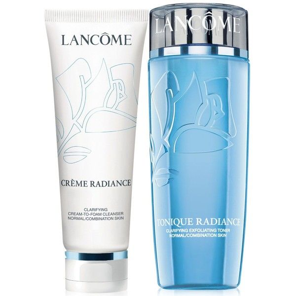 Lancome Tonique Radiance Dual Pack (1.040 UYU) ❤ liked on Polyvore featuring beauty products, skincare, face care, face cleansers, no color, lancome face cleanser, lancôme, lancome face wash, foaming face cleanser i lancome facial cleanser