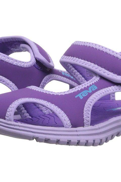 Teva Kids Tidepool CT (Toddler) (Deep Lavender/Lavender) Girls Shoes - Teva Kids, Tidepool CT (Toddler), 110130T-659, Footwear Open Casual Sandal, Casual Sandal, Open Footwear, Footwear, Shoes, Gift, - Street Fashion And Style Ideas