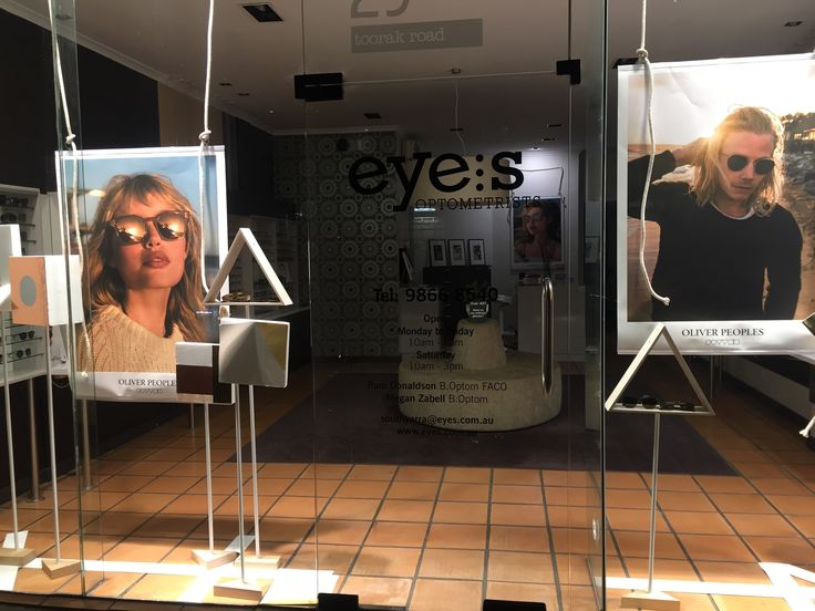 Oliver Peoples showcased in South Yarra