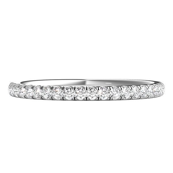1 4 Ct Tw Altr Created Diamond Band In 14k White Gold Helzberg Diamonds Diamond Bands Diamond Wedding Bands White Gold Band