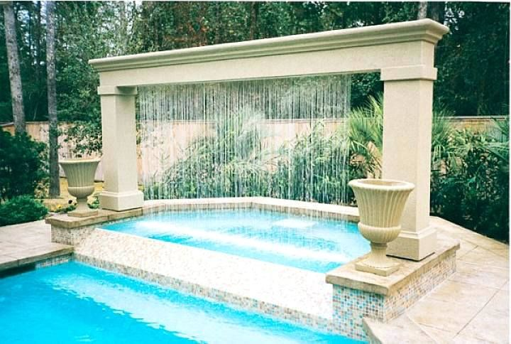 Waterfall Fountains Pool Water Fountain