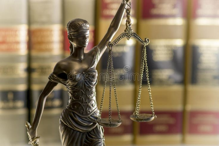 Legal law concept image scales of justice and books