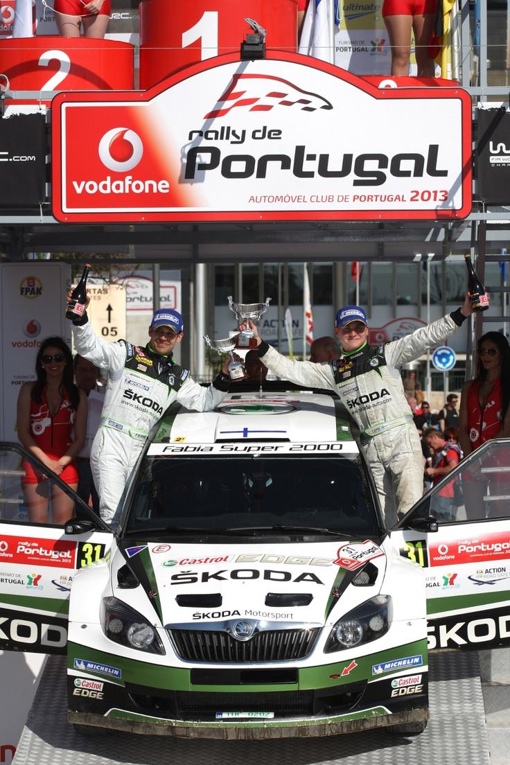 WRC Rally de Portugal, Faro 1114 04 2013 E.Lappi and J