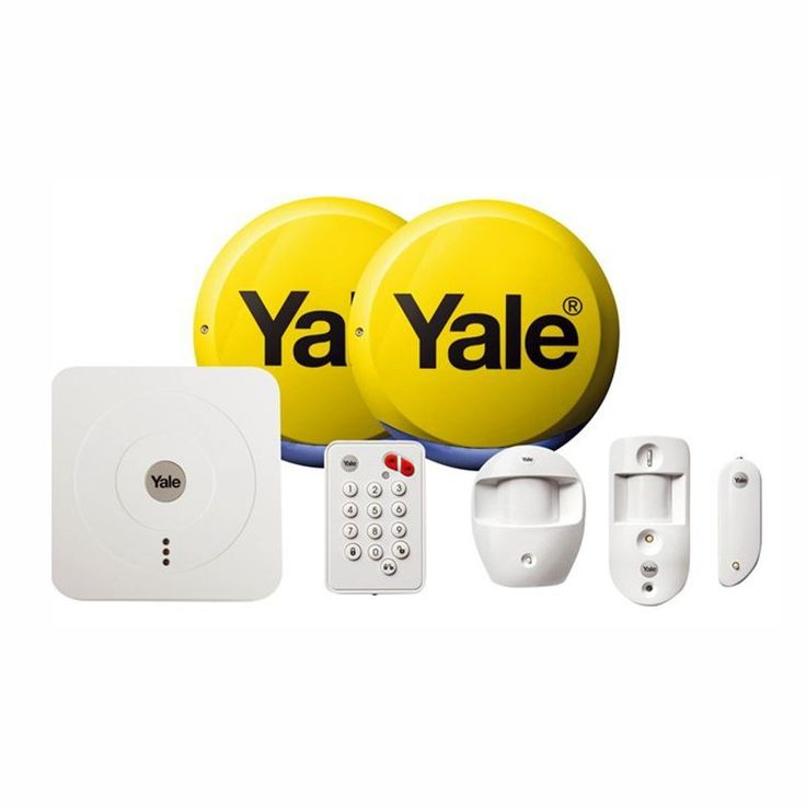 Yale Smart Home Alarm and View Kit SR-330 allows you to arm and disarm your alarm system and view images of inside your home via a PIR Image Camera via your Smartphone.