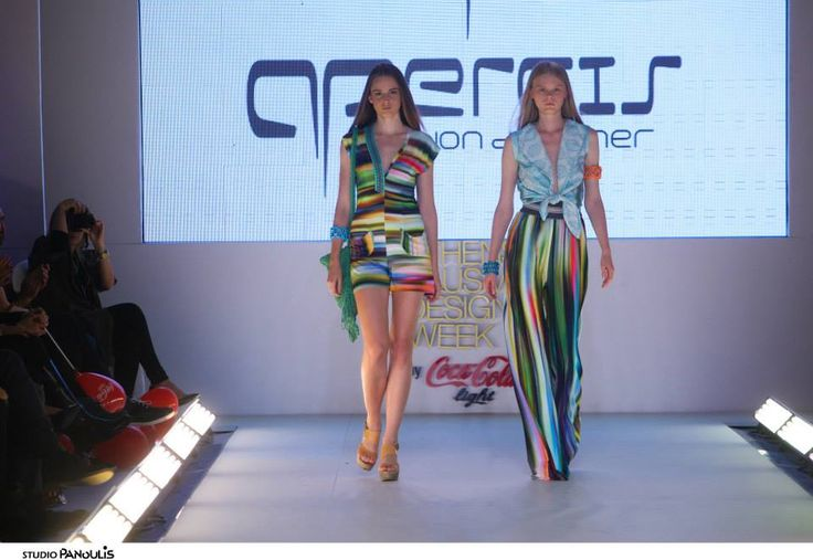Panos Apergis S/S '15 collection at the 16th AXDW by Coca-Cola light