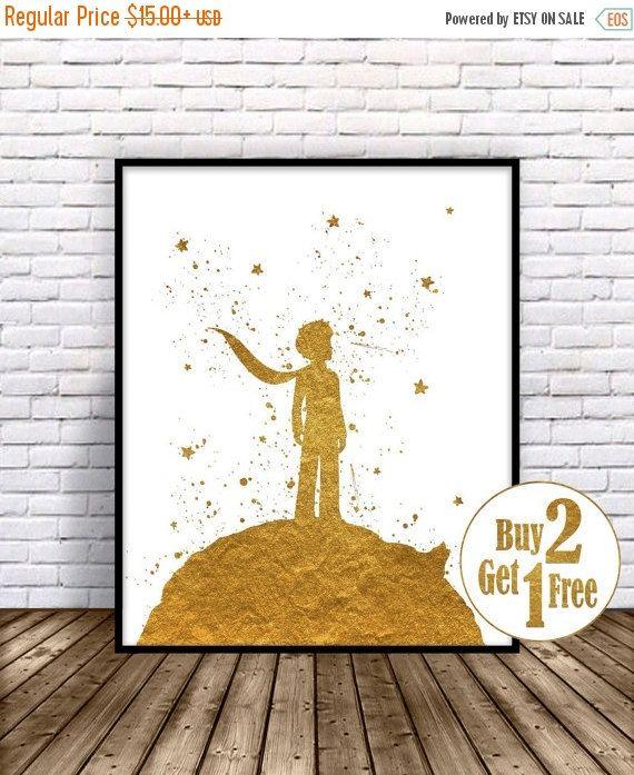 ON SALE: The Little Prince, Le Petit Prince Print, Little Prince Print,
