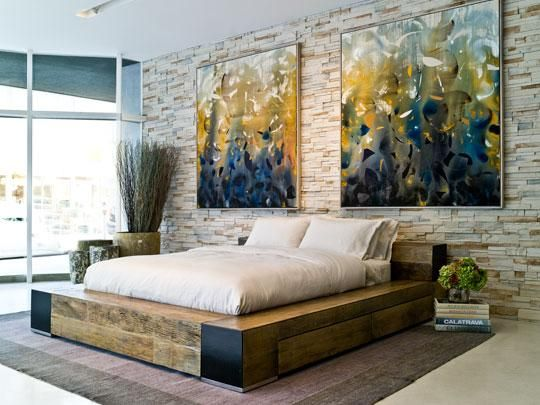 Edge Bed   Contemporary   Beds   Los Angeles   By Environment Furniture