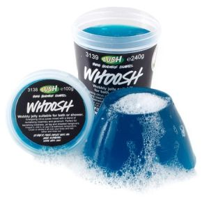 Whoosh - LUSH the best if kept in the freezer and used after sunburn.  Smells delicious!