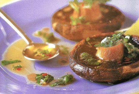 Μανιτάρια Πορτομπέλο στο φούρνο με μυρωδικά