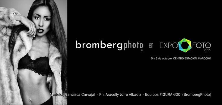 Bromberg Equipos Fotográficos en Expofoto2013. 5 y 6 de octubre, Estación Mapocho.  www.brombergphoto.com