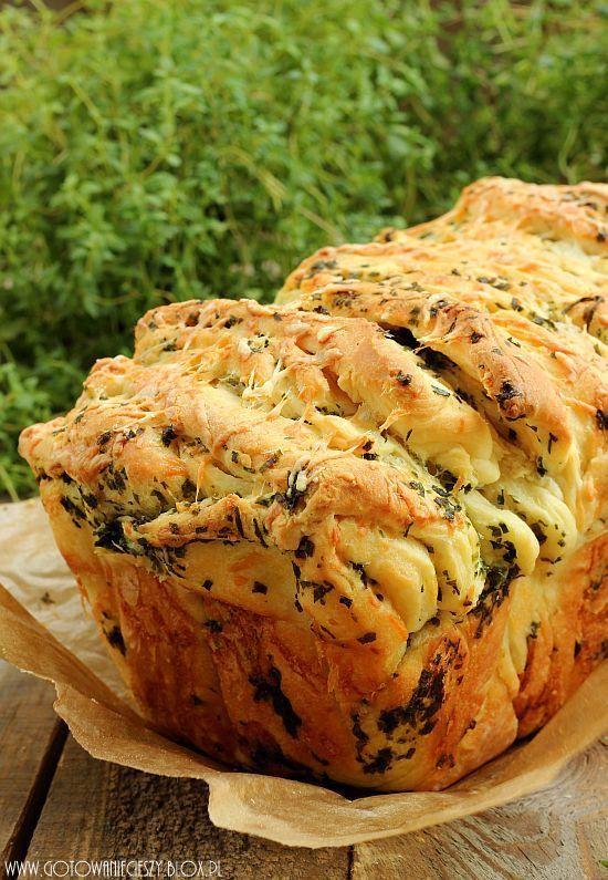 Chlebek ziolowy do odrywania