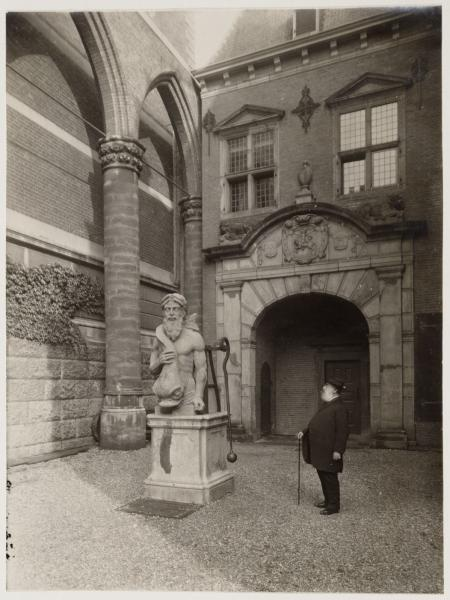 At the Rijksmuseum, 1920