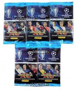 KARTY CHAMPIONS LEAGUE 2014/15 ADRENALYN XL SASZETKA