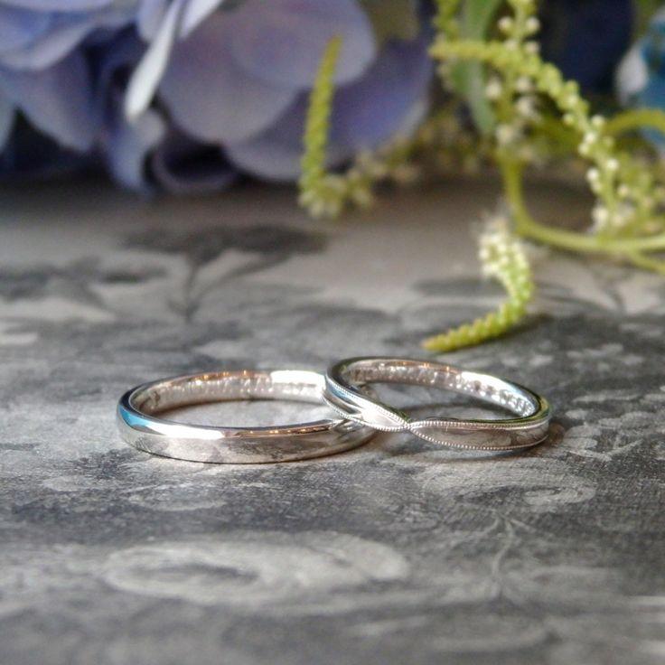 アレグロウーノとリボンウーノの結婚指輪 [マリッジリング,marriage,Pt900]
