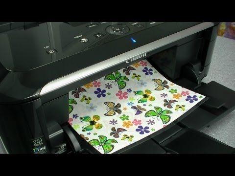 ▶ Edible Printing: Layout and Design for Cakes by Cookies Cupcakes and Cardio - YouTube