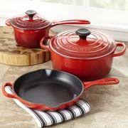Giveaway: Le Creuset Enameled Cast Iron 5-Piece Cookware Set [Expires 10.11.13] #giveaways