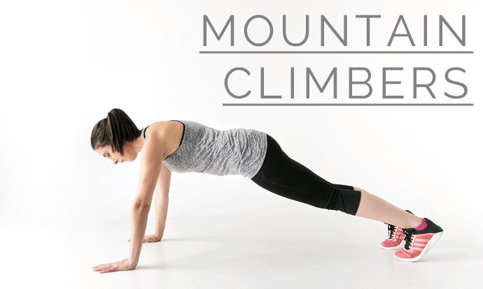 How to do mountain climbers - 12 Week Wedding Workout #LPBLiveWell