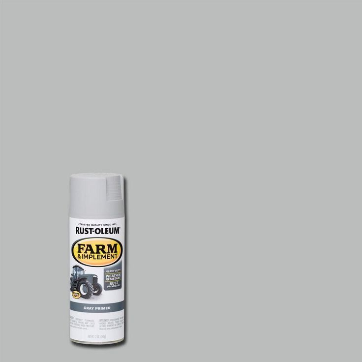 Rust-Oleum 12 oz. Farm and Implement Gray Primer Spray Paint (Case of 6)