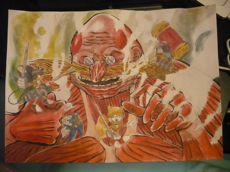 ~ Attack on BOOM in progness ~  | Art & idea: pearlANDblood |