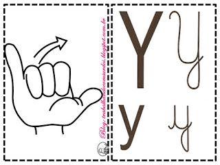Trabalhando com Surdos: Libras: Alfabeto 4 Tipos de Letras em Libras