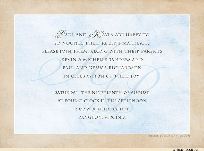post wedding reception invitation wording wedding reception invitation wording - Wedding Invitation Sayings