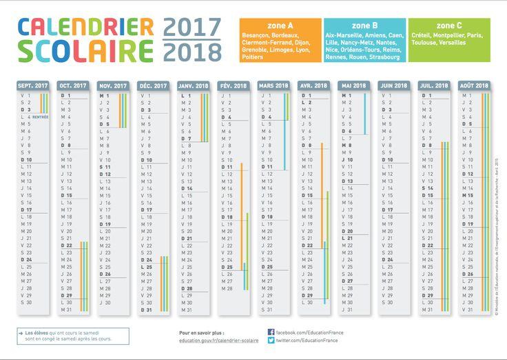 calendrier scolaire chili 2018