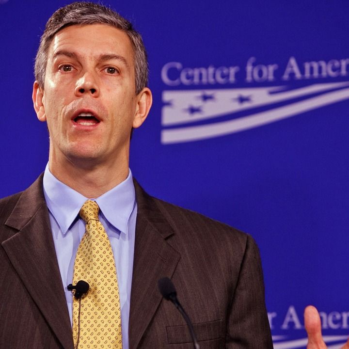 Khan Academy founder Sal Khan interviewed Education Secretary Arne Duncan