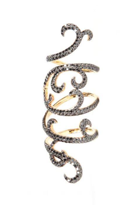 "Elisse Dray ""Arabesque"" ring. Source: Colette"