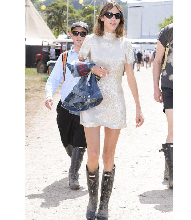 Glastonbury 2015 Style: Alexa Chung, Nick Grimshaw, Daisy Lowe & more | Best & Worst Dressed | heatworld