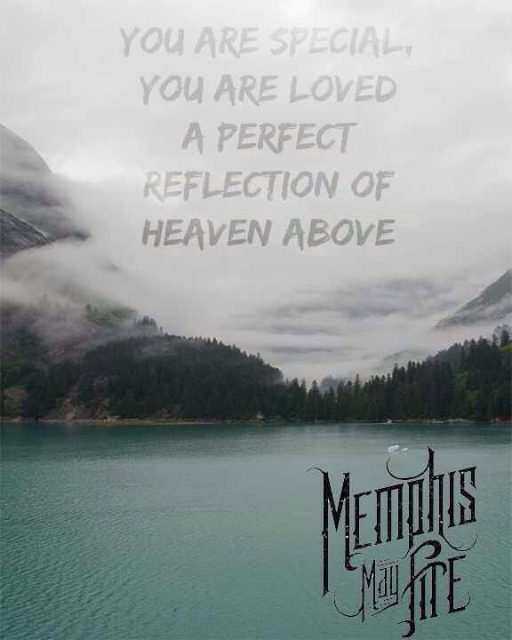 Memphis May Fire - Divinity Unconditional. This song and Beneath the Skin mean so much to me. I cry every time I hear them.