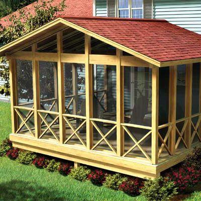 image of a diy screen porch kit