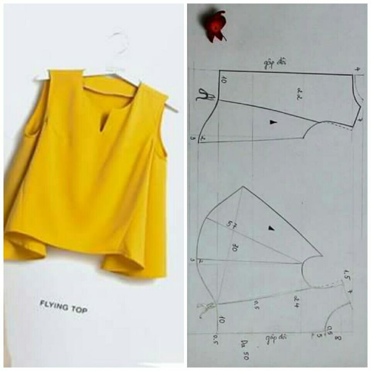 Sewing Pattern / Blouse