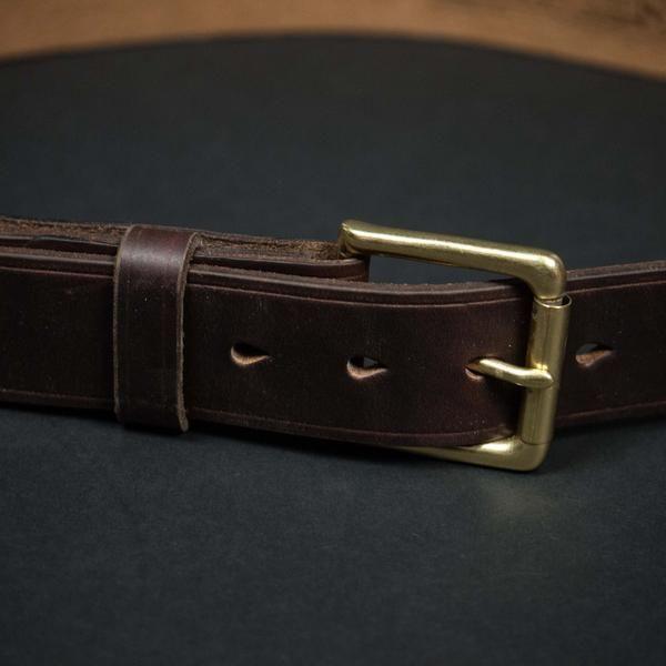 Coronado Leather   Horween Belt (Brown)