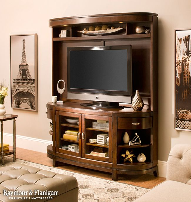 This Entertainment Center Would Be Perfect For Your Masculine Living Room And It Fits A TV