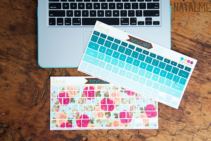 Laptop Love with Keycals keyboard decals by kidecals