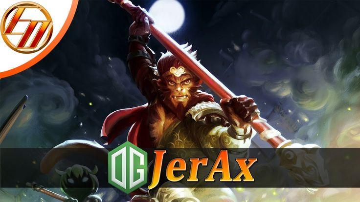 OG.JerAx  Monkey King  Dota 2 Pro Gameplay | Team OG