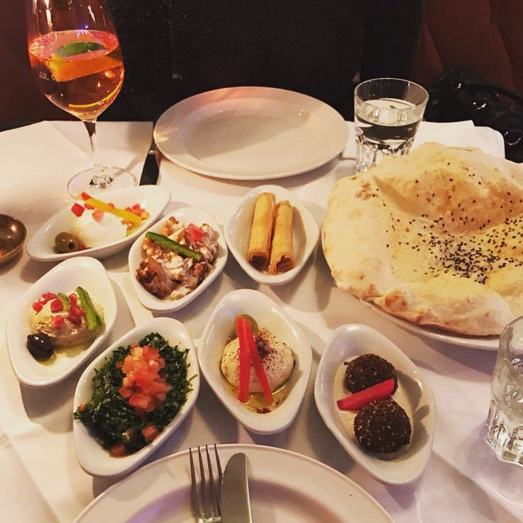 """Arabic Food. It was so delicious. You Want eat that, than Drive to Berlin and go to The restaurant """"Marooush""""  #berlin #marooush #foodporn"""