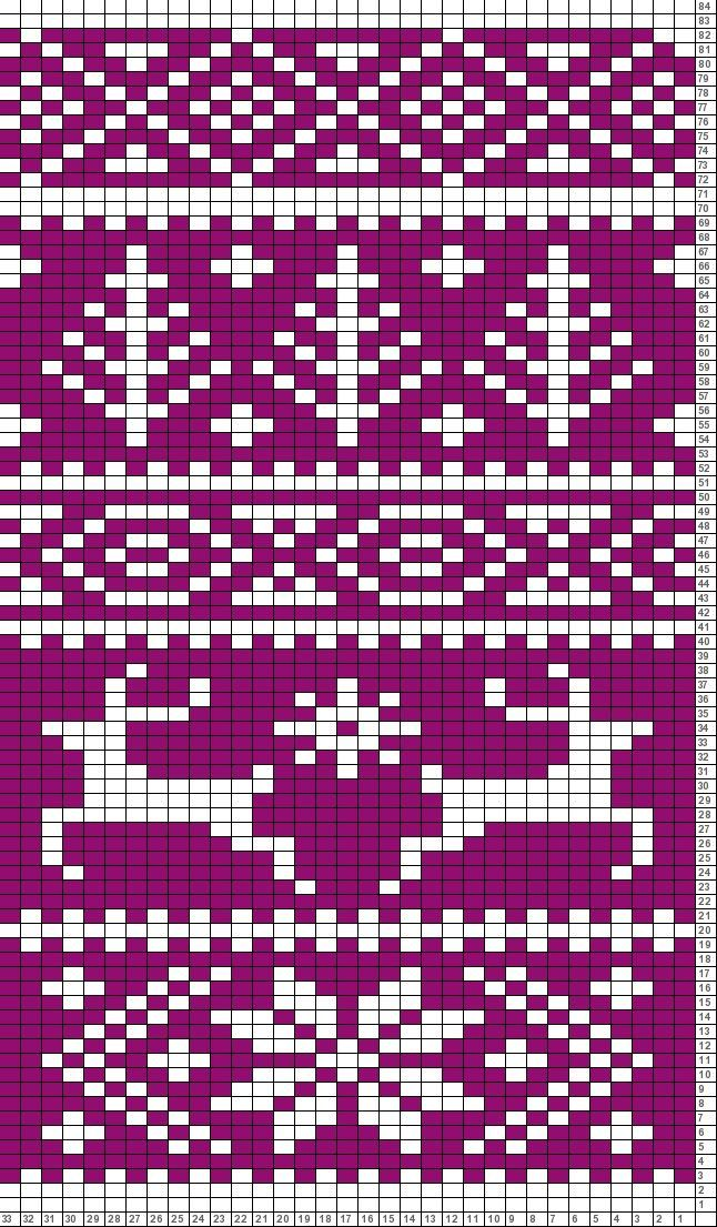 Kuvahaun tulos haulle knitting chart maple leaf