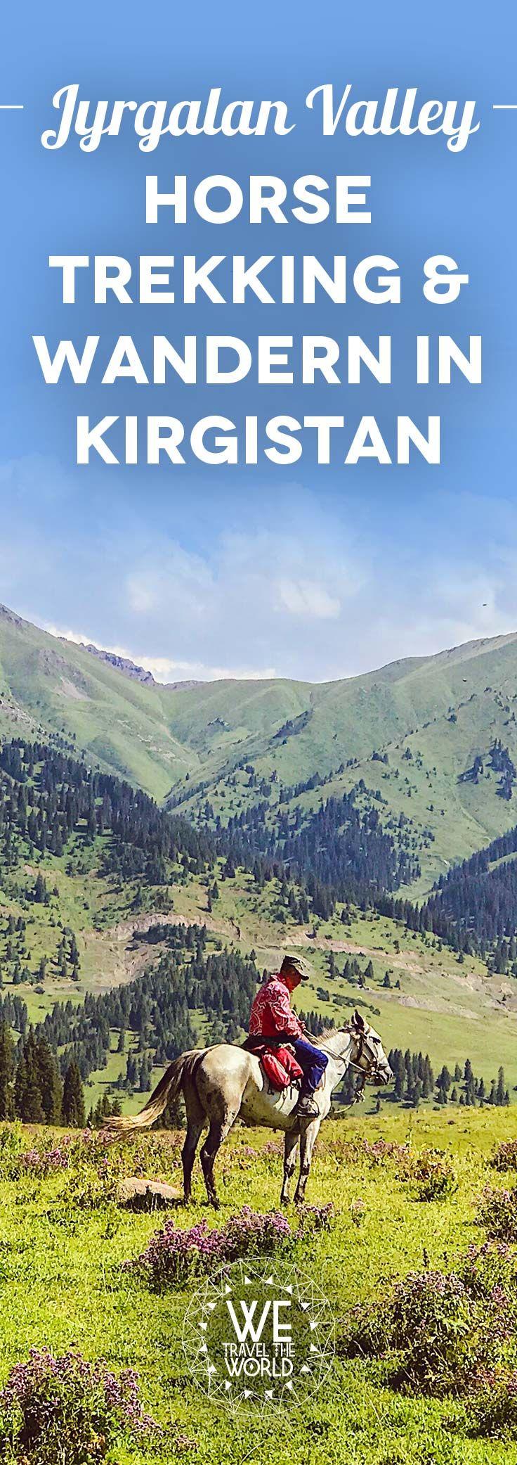 Auf einer Kirgistan Reise darf Horse Trekking und Wandern durch die wunderschöne Landschaft nicht fehlen!