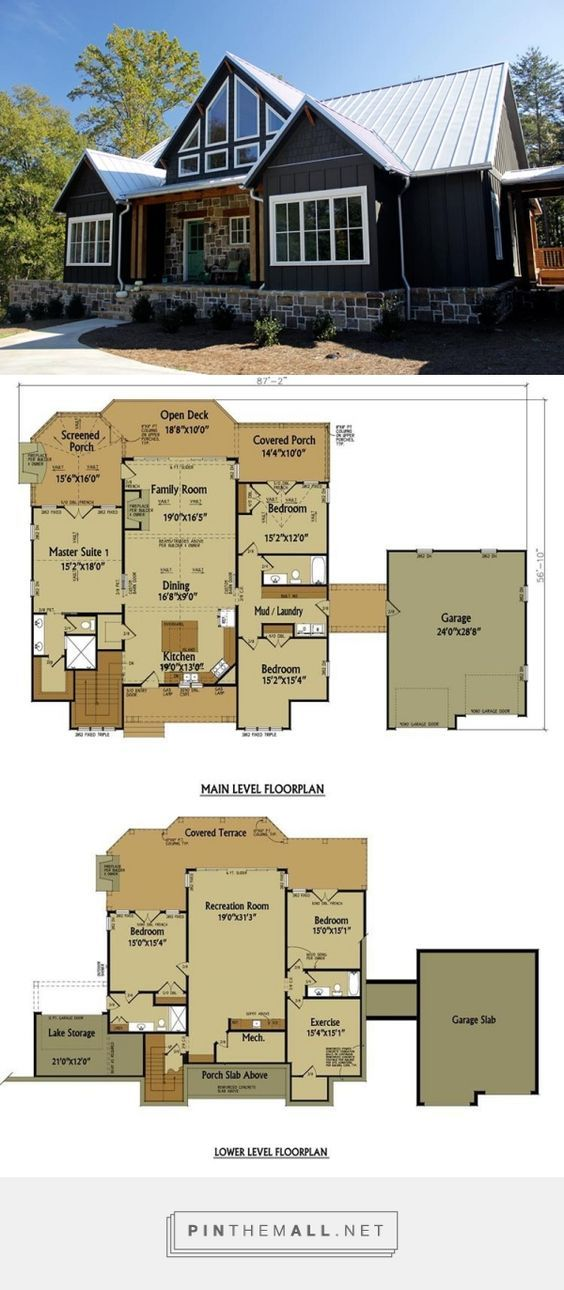 15 Must See Rustic House Plans Pins House Floor Plans