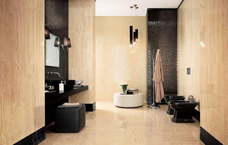 Moderní byt | Hodí se velké formáty i do malé koupelny?