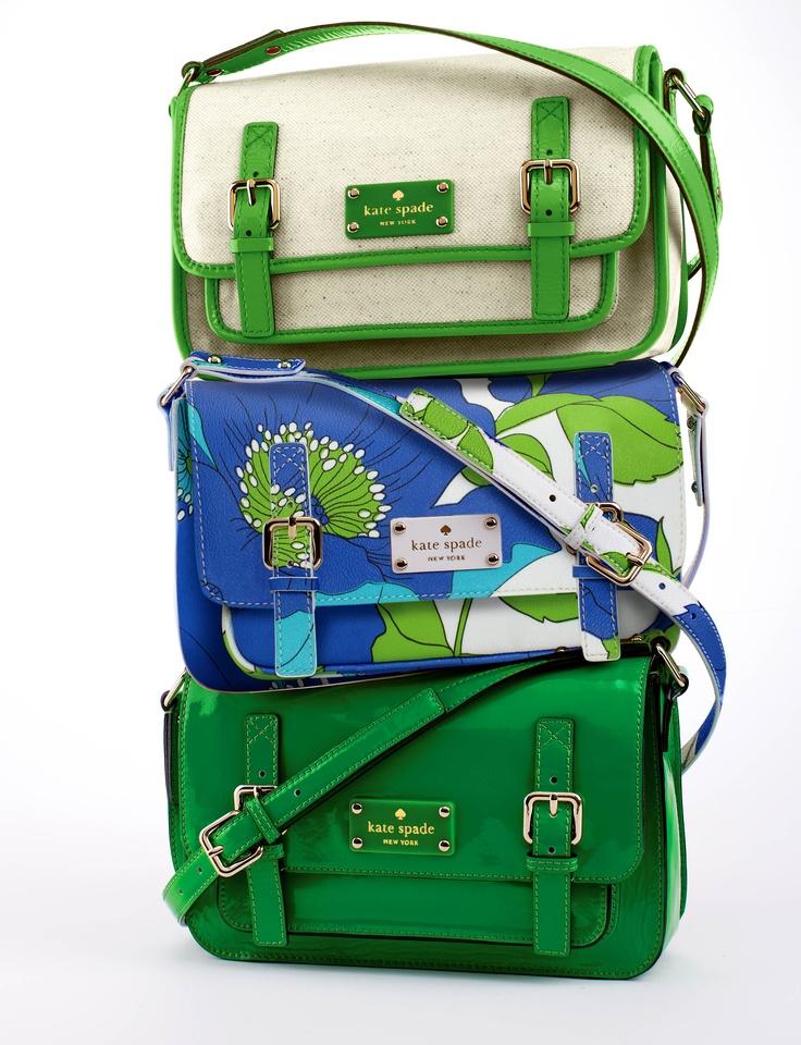 Kate Spade bags.