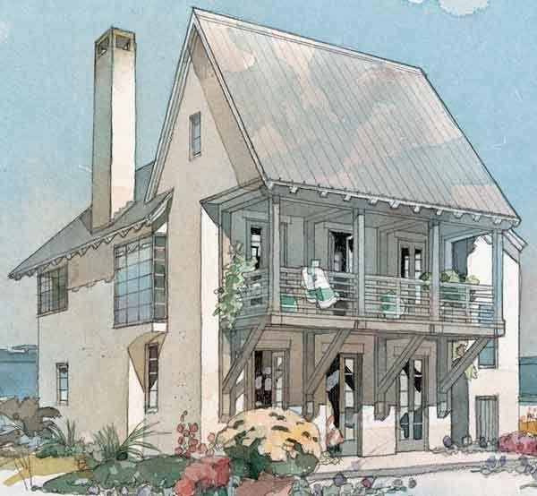 Coastline Cottage   Top 25 House Plans   Coastal Living, For My Restaurant