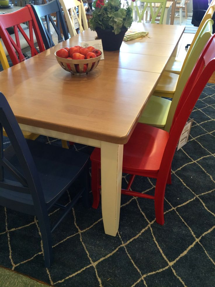 Thereu0027s Nothing Drab About This Dining Table U0026 Chairs. Pick 1 Color Or Pick  Them All. Come Check It Out @ Outer Banks Furniture Kitty Hawk.