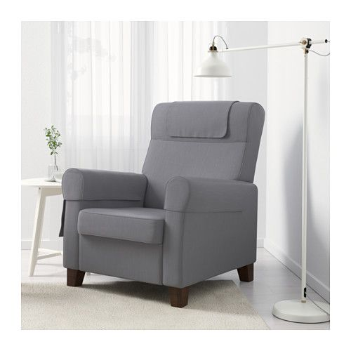MUREN Recliner - Nordvalla medium gray - IKEA