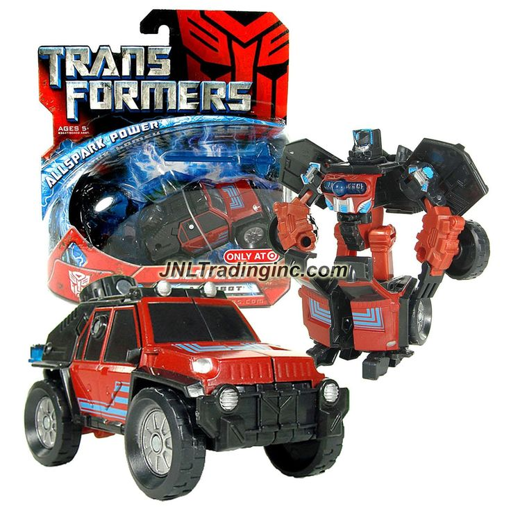 "Hasbro Transformers 1st Movie All Spark Power Series Scout Class 4-1/2"" Tall Figure - WARPATH with Missile and Cyber Key (Vehicle Mode: Off-Road SUV)"