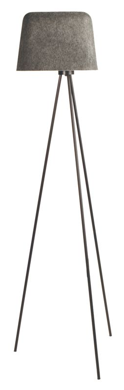 tom dixon felt shade floor lamp: by Tom Dixon, felt shade lamp