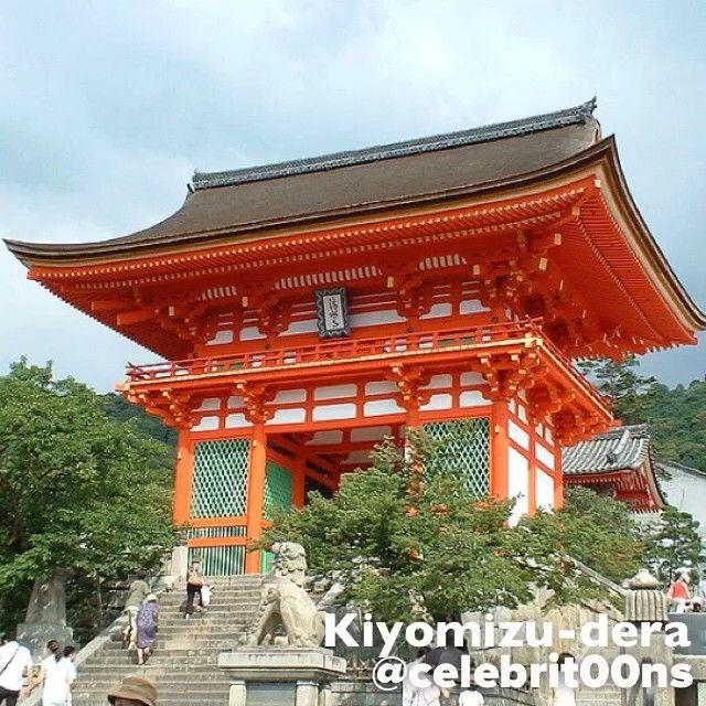 """#Kiyomizudera #Kioto #Japon #Asia #ILoveTheWorld  Finalista #7MaravillasDelMundo  Kiyomizu-dera denomina a varios templos budistas, y más comúnmente se…"""