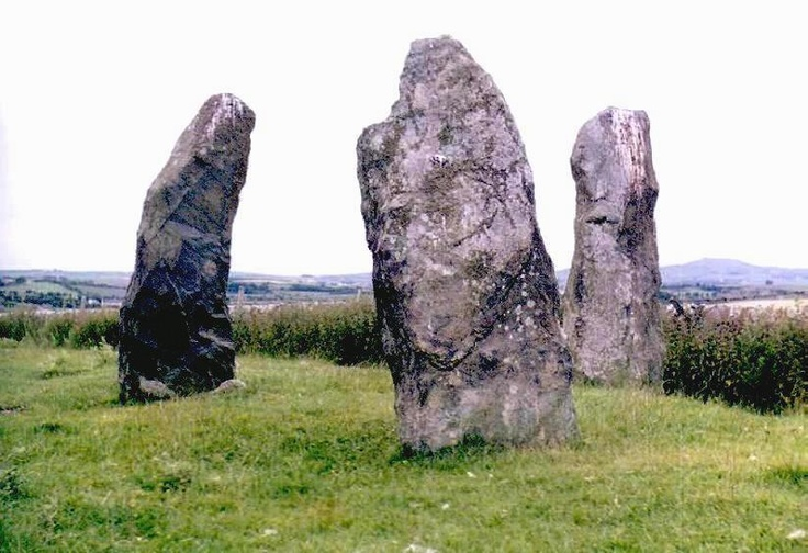 Meini Hirion (Llanfechell)  Standing Stones  Anglesey (Ynys Môn)