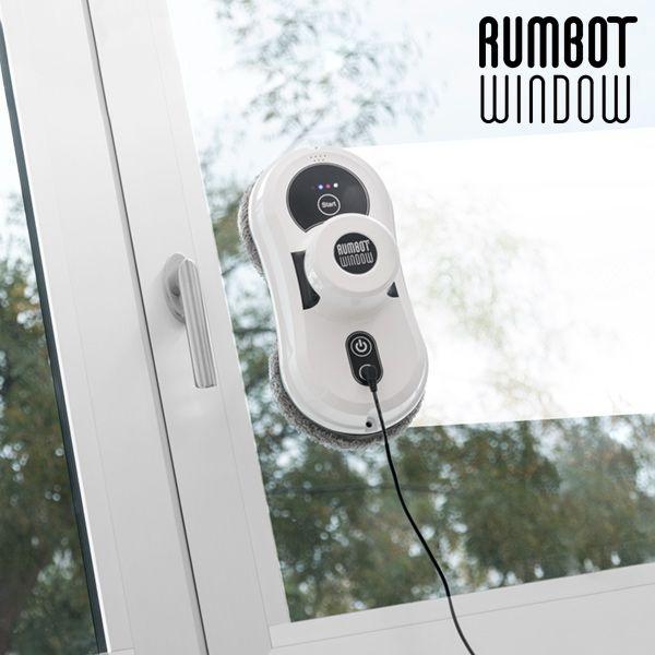 348,00€ · Robot limpiador de ventanas Rumbot Window · Si eres de los que les gusta tener los cristales de su casa relucientes, no puedes perderte el robot limpiador de ventanas Rumbot Window. Podrás limpiar ventanas, cristales, mesas de vidrio, azulejos, etc. de la manera más práctica. Dispone de un sistema rotatorio doble provisto de gamuzas de microfibra y, además, puede limpiar tanto en vertical como en horizontal. · Hogar y jardín > Electrodomésticos > Pequeño electrodoméstico…